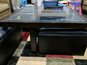 Coffee table (wooden) -$100 or best offer