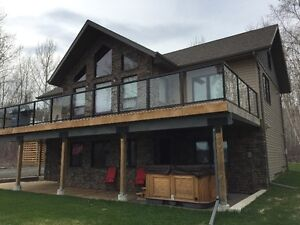 Mink Mountain Lakefront Home