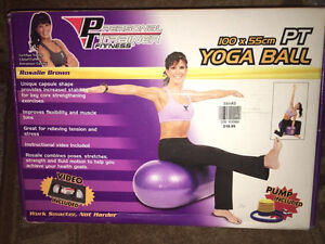 Personal Trainer Fitness Yoga Ball