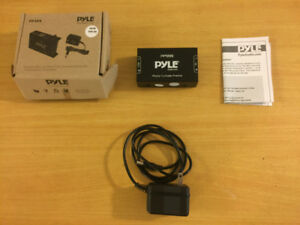 PYLE Preamplifier for Turntables, 12-Volt Adaptor - Brand New