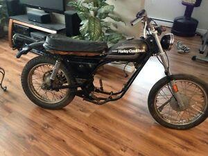1976 Harley Davidson SS175