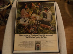 OLD CLASSIC PEPSI AND OTHER SOFT DRINKS ADS Windsor Region Ontario image 3