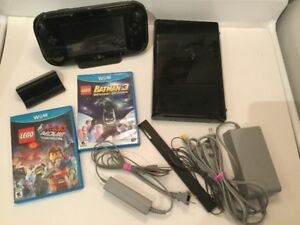 Wii U + Lego Batman 3 + Lego Movie /220$