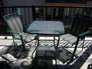 SET DE PATIO 2 CHAISES