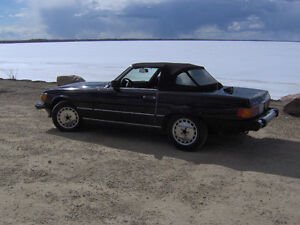 mercedes benz 560 sl accepting offers