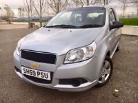 2009 CHEVROLET AVEO ++ VERY LOW LOW MILEAGE ++ CD ++ ELECTRIC WINDOWS ++ SEPTEMBER MOT.