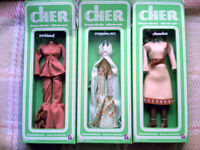 Cher Designer Collection Fashions Bob Mackie Outfits 1976 MIP