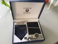 Zurich sports watch gift set