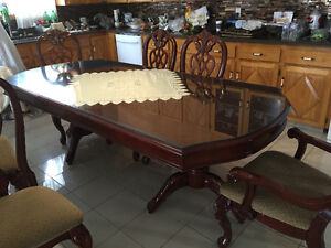 Dinning Table Cherry Solid Wood