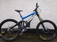 Giant glory 2009 downhill mountain bike