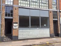 retail shop office hairdressers design office to let All bills included 495sq feet
