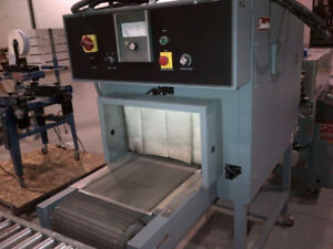 Used Shrink Wrap Machine – Shanklin T7H Shrink Tunnel [103].