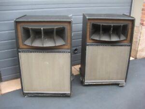 vintage altec lansing speakers