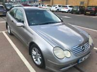 2003 Shape Mercedes-Benz C180 Kompressor 1.8 auto 2003MY SUPERB. MOT. TAX.FSH