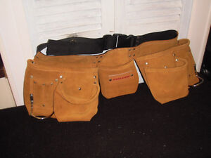 New. Fuller Suede Tool Belt