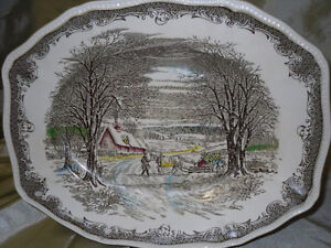 Made in England small Platter