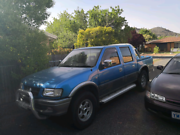 2002 Holden Rodeo 4x4 Sport 6 cyl Theodore Tuggeranong Preview