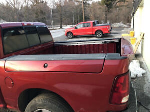 Selling Red Dodge Ram Box- Built in Toolboxes on Sides