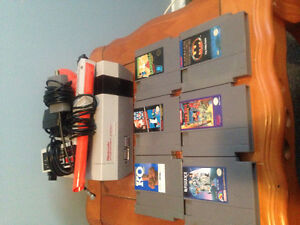 Original nes system with six games