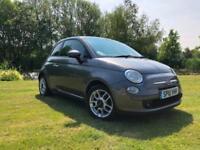 2010 Fiat 500 1.2 SPORT PART LEATHER £30 ROAD TAX
