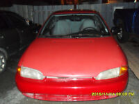 1993 Plymouth Colt Berline