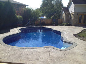 swimming pool liners/renovations
