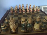 Collectable Alice and Wonderland chess set