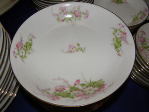 WM Guerin Limoges Large set of Dinnerware for 12 settings people Kingston Kingston Area image 3