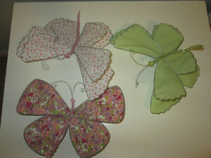 Pottery Barn Kids Decor - Butterfly Clips
