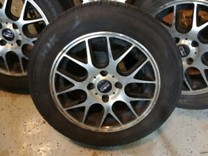 """15"""" 4x108 Alloy Wheels - Off 2009 Ford Focus"""