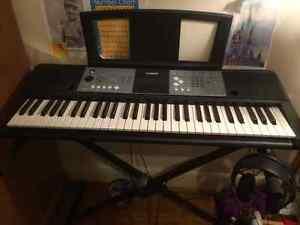 Yamaha Piano Keyboard with Stand and Earphones