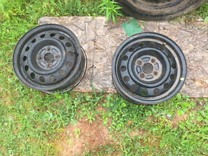 4 14 inch steel rims