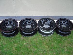 toyota steel rims -