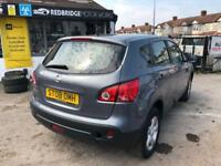 2008 NISSAN QASHQAI, 1.6 MANUAL, WELL LOOKED AFTERE, CHEAP INSURANCE CAR