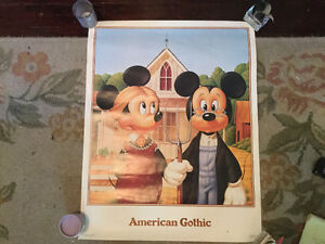 HALF PRICE! Vintage Mickey Mouse poster for sale Regina Regina Area image 1