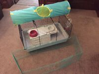 Slavic Nero Deluxe Guinea Pig or Rabbit Cage.