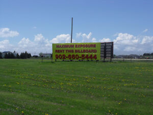 Commercial Billboard space for rent - TransCanada Highway