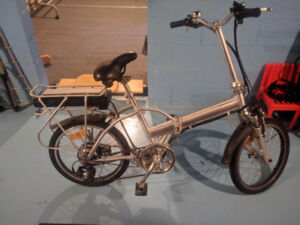 Ebike foldable, excellent condition