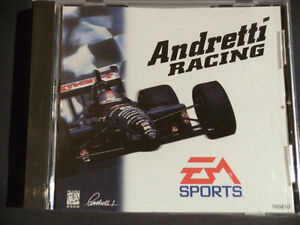 1997 ANDRETTI RACING PC CD - EA SPORTS (Barely used)