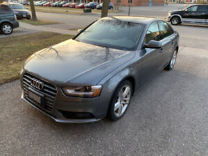 2013 Audi A4 Quattro - Very Low KMs