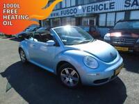 2007 Volkswagen Beetle 1.6 Luna - Blue - Long MOT 2017 + Platinum Warranty!