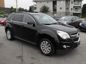 2011 EQUINOX LT  AWD  NAV  SUNROOF  LEATHER  LOCAL TRADE-IN !!!