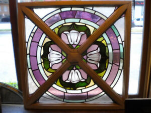 Vitrail vitraux antique / skylight stained glass
