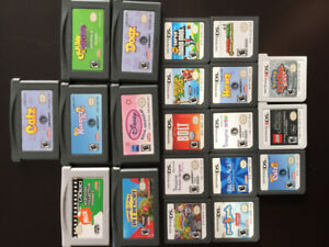 Gameboy/DS/3DS Games for Sale