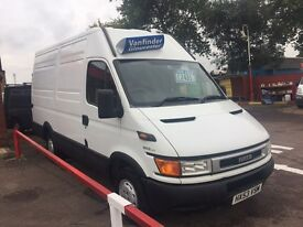 IVECO mwb panel van LONG MOT ONLY £2495