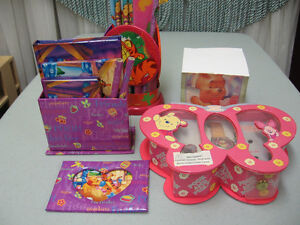 Winnie the Pooh girl's watch and stationary collection