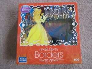 Disney Princess Borders Puzzle-600 pieces