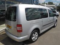 2012 Volkswagen CADDY MAXI C20 LIFE TDI *7 SEATER* Manual Crew Van