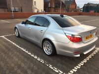"BMW 530D MSPORT 18"" big scoop staggered alloys may swap 4x4 x5 try me px"