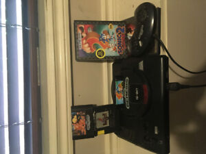 Sega genisis 16bit with 3 games and 1 controller $50.00